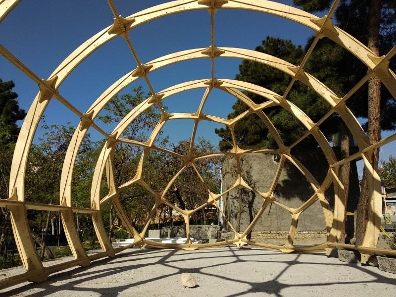 آلاچیق گنبدی Dome structure