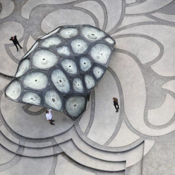 پاویون تحقیقاتی دانشگاه اشتوتگارت – 2013 – معماری بایونیک با ساخت دیجیتال