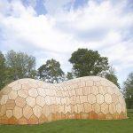 """معماری دیجیتال در ساخت نمایشگاه """"لندزگارتن"""""""
