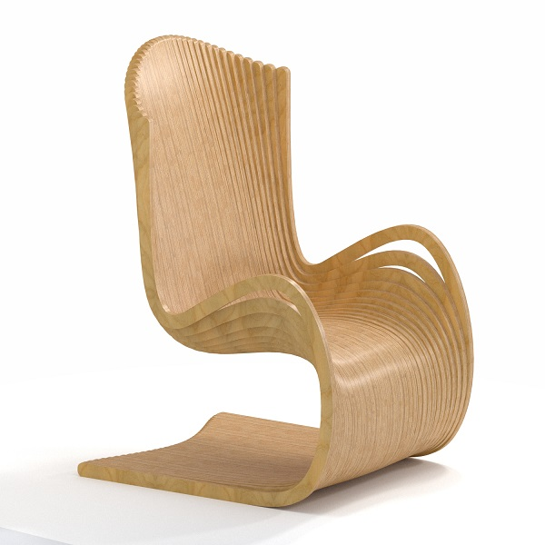 صندلی پارامتریک parametric chair کرسی حدیث