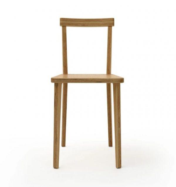 صندلی چوبی پازلی مینیمال