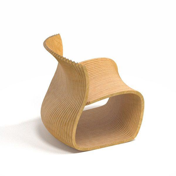 parametric chair صندلی پارامتریک کرسی حدیث